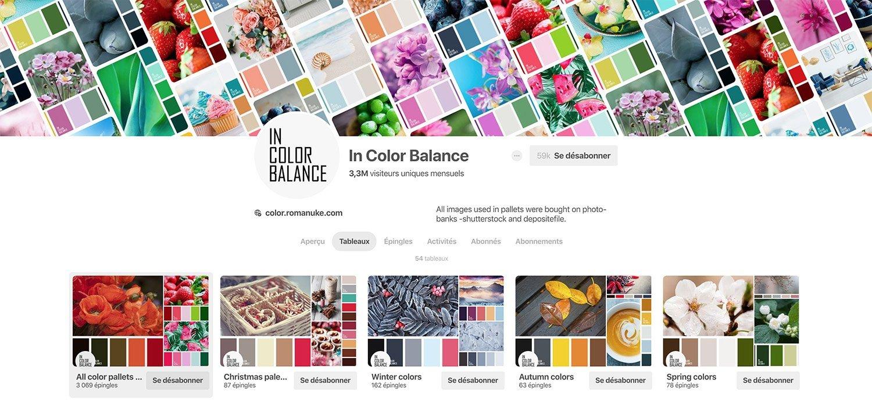 in color balance pinterest copie