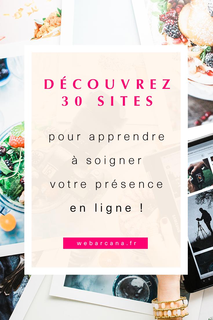 30 sites pour apprendre à soigner sa présence en ligne Pinterest