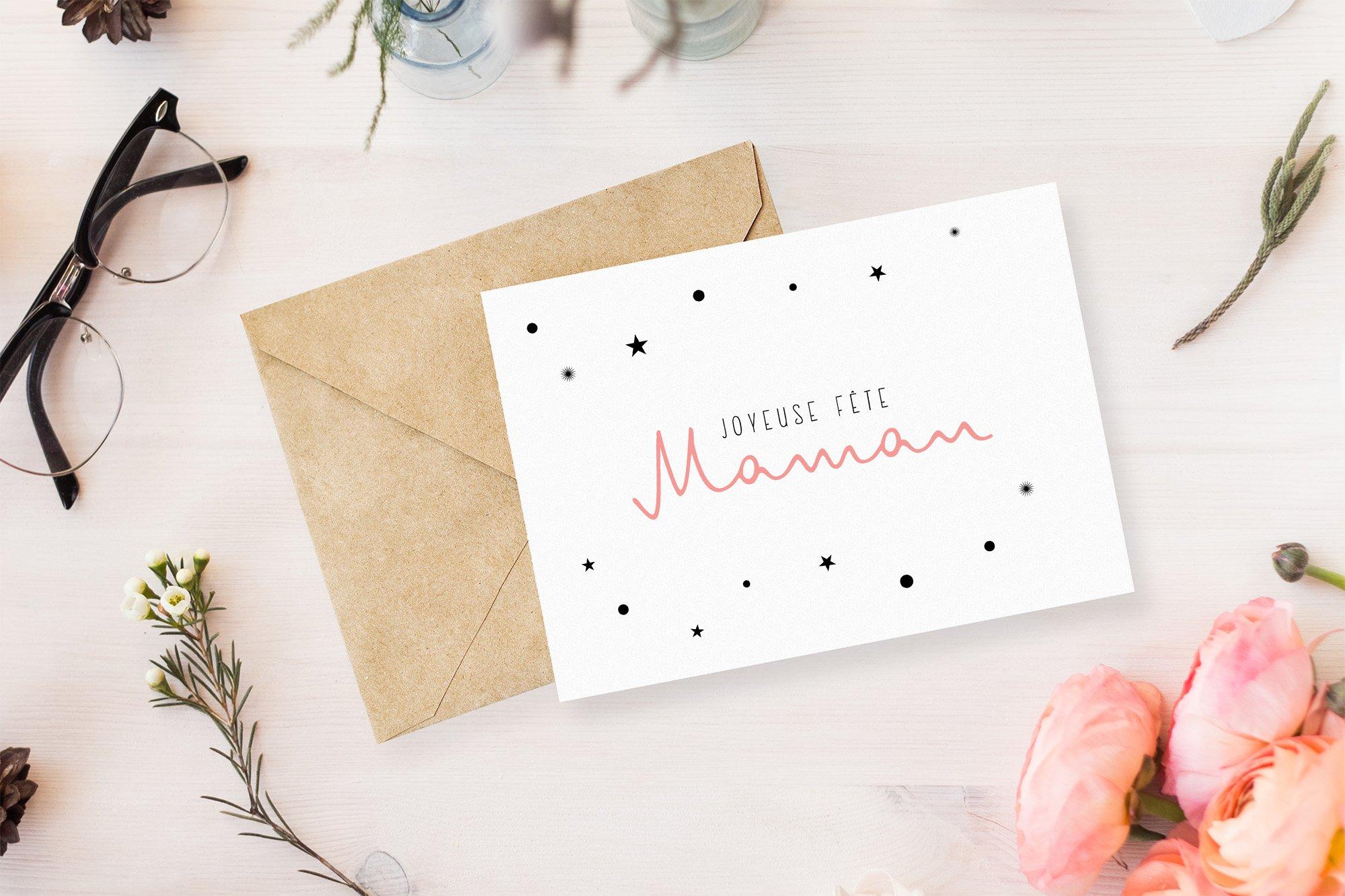 mockup carte fête des mères 1