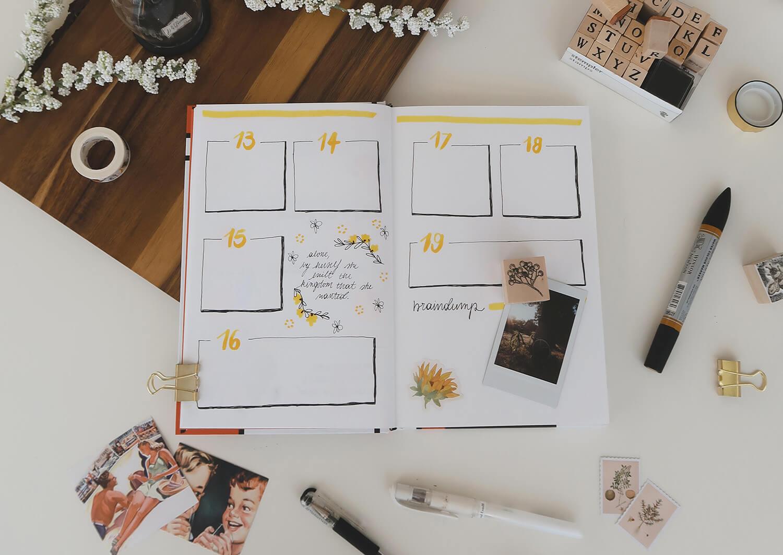 Astuces Bullet Journal pour entrepreneuses creatives