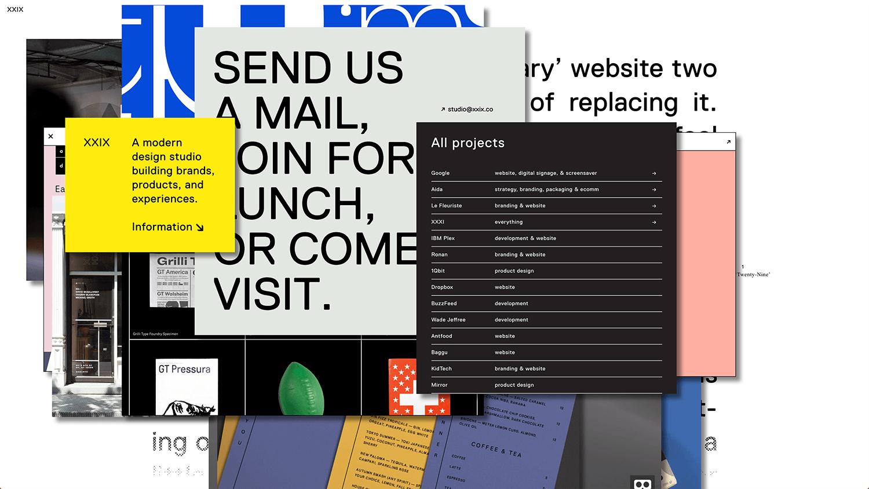 Tendances typographie 2018 contenu caché
