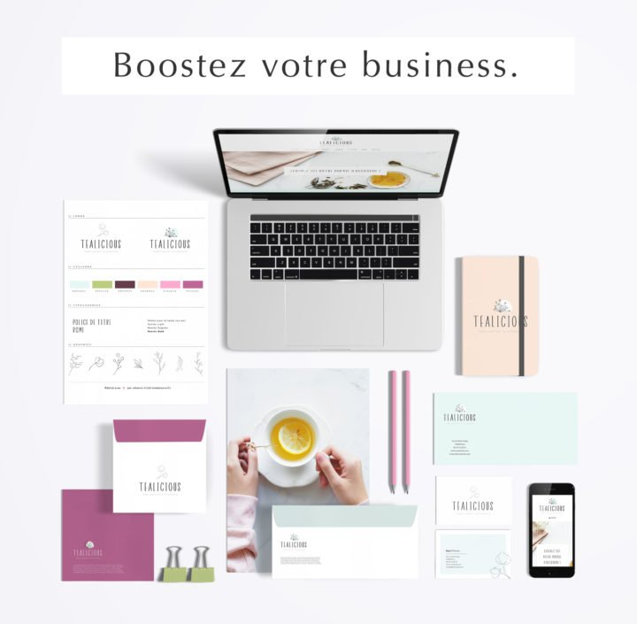 Pack web entrepreneuse artisan