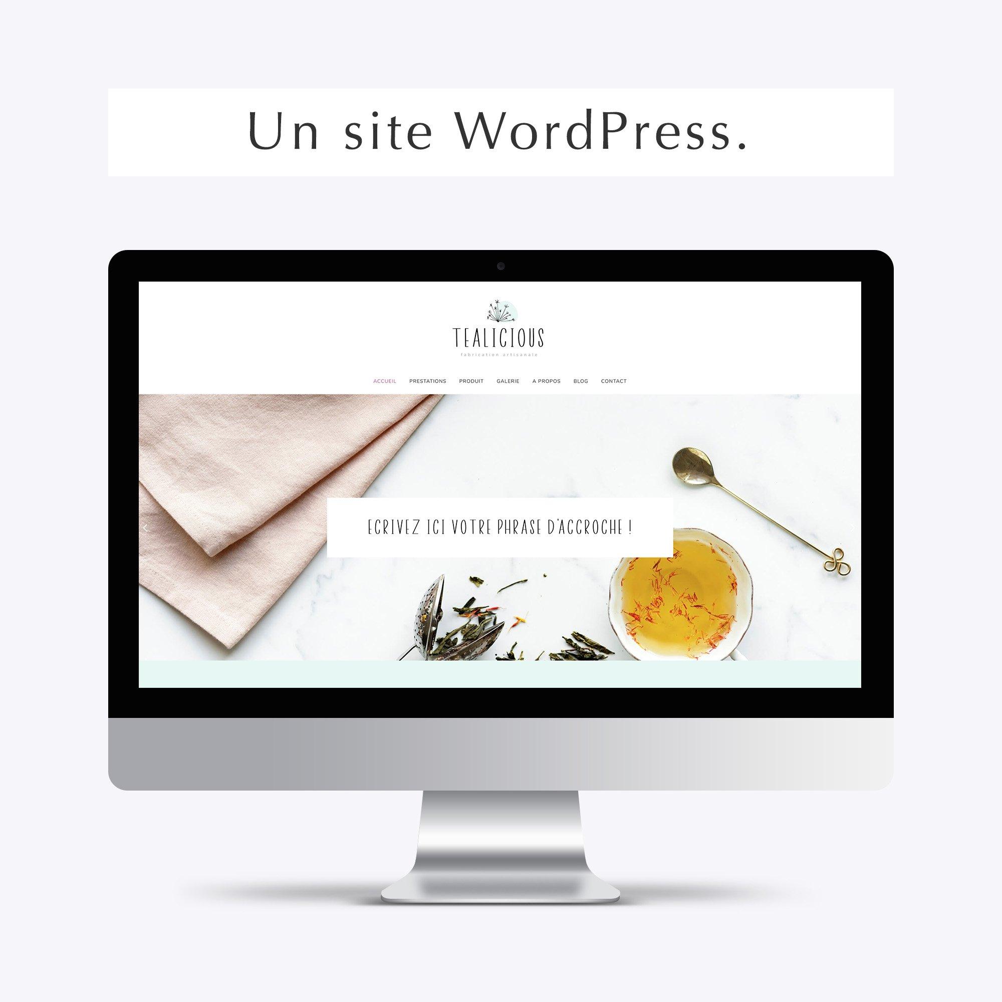 Pack web entrepreneuse artisan site wordpress