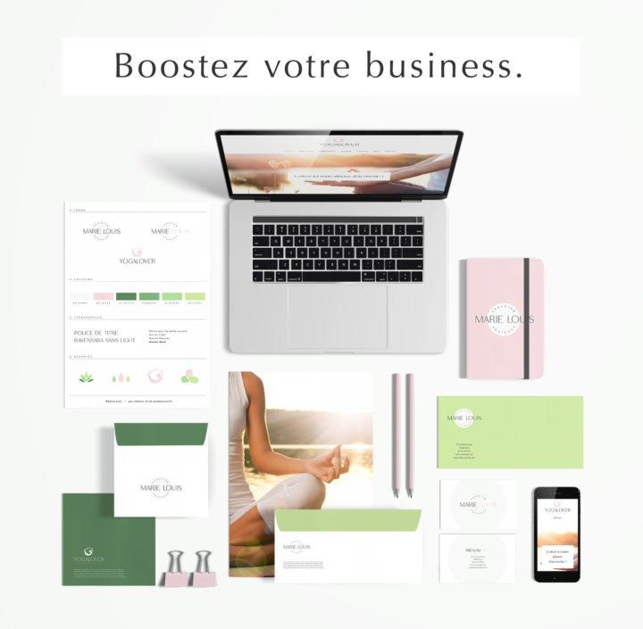 Pack web entrepreneuse bien-être