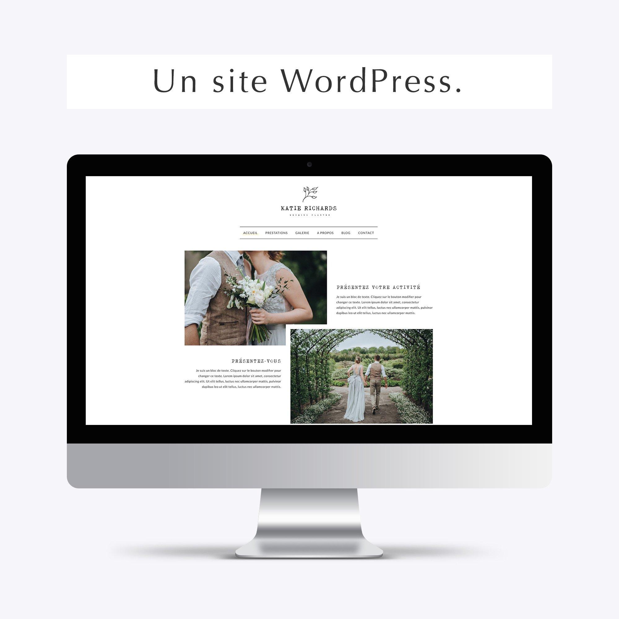 Pack web entrepreneuse vintage site wordpress