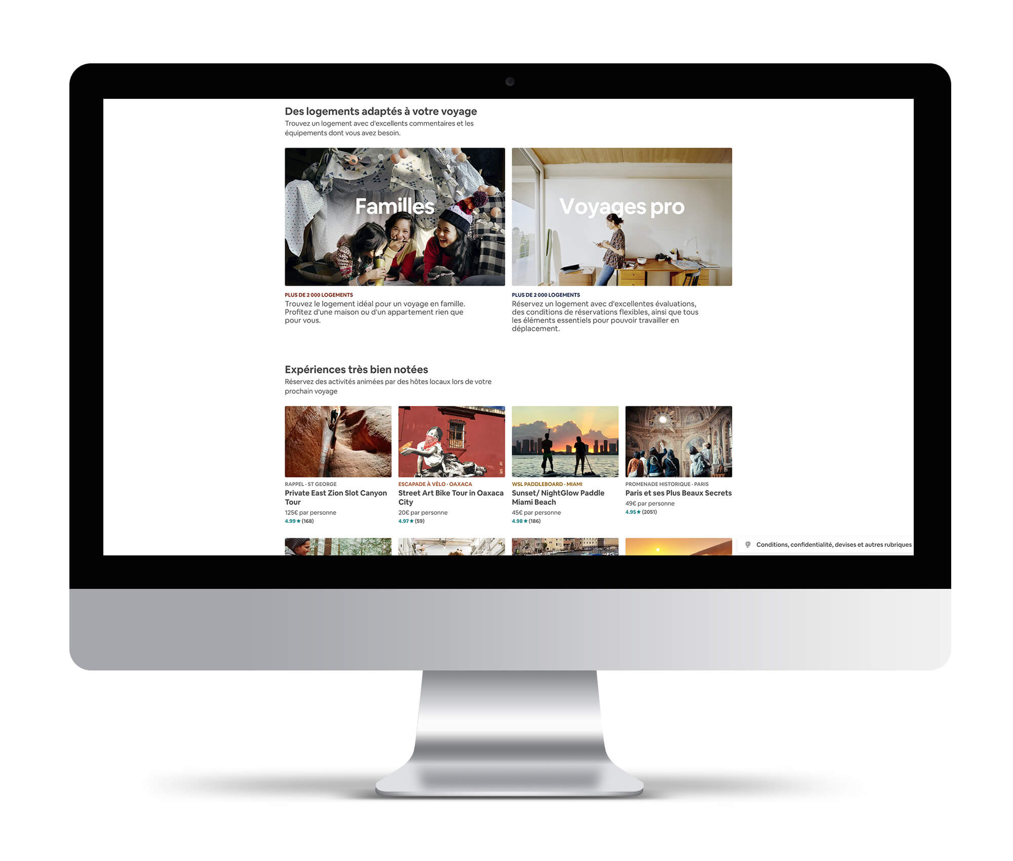 airbnb effet wow webdesign