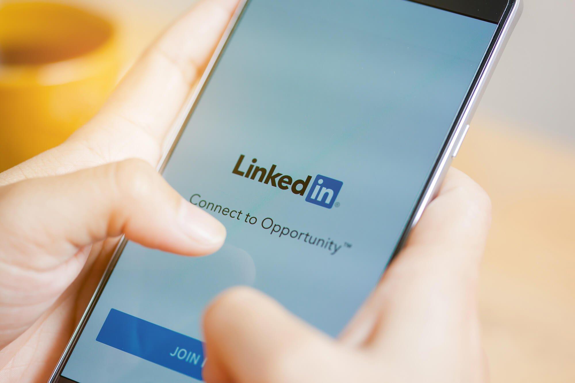 freelance réseau social linkedIn