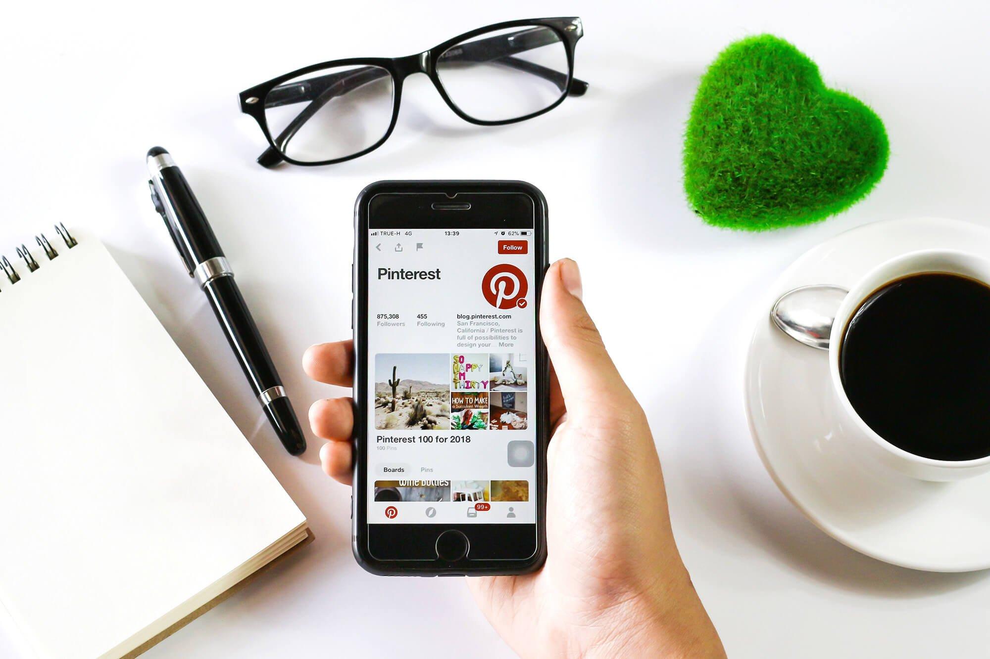 freelance réseau social pinterest