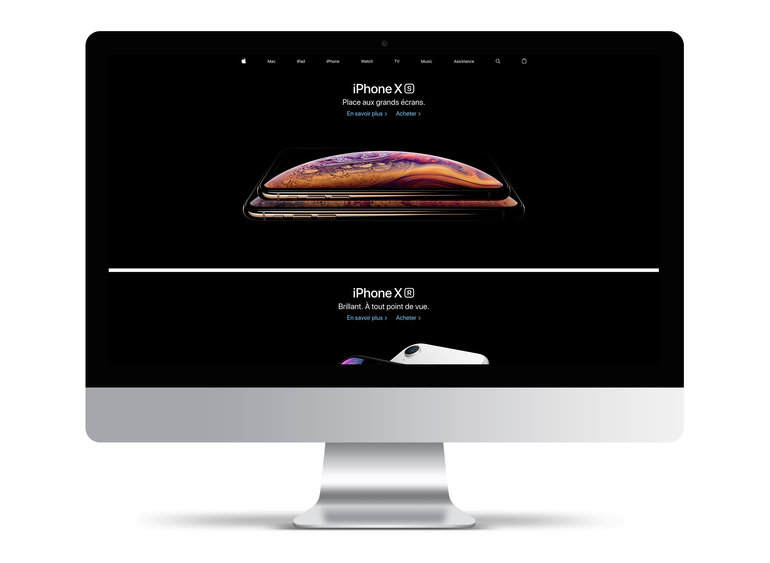 webdesign user experience apple