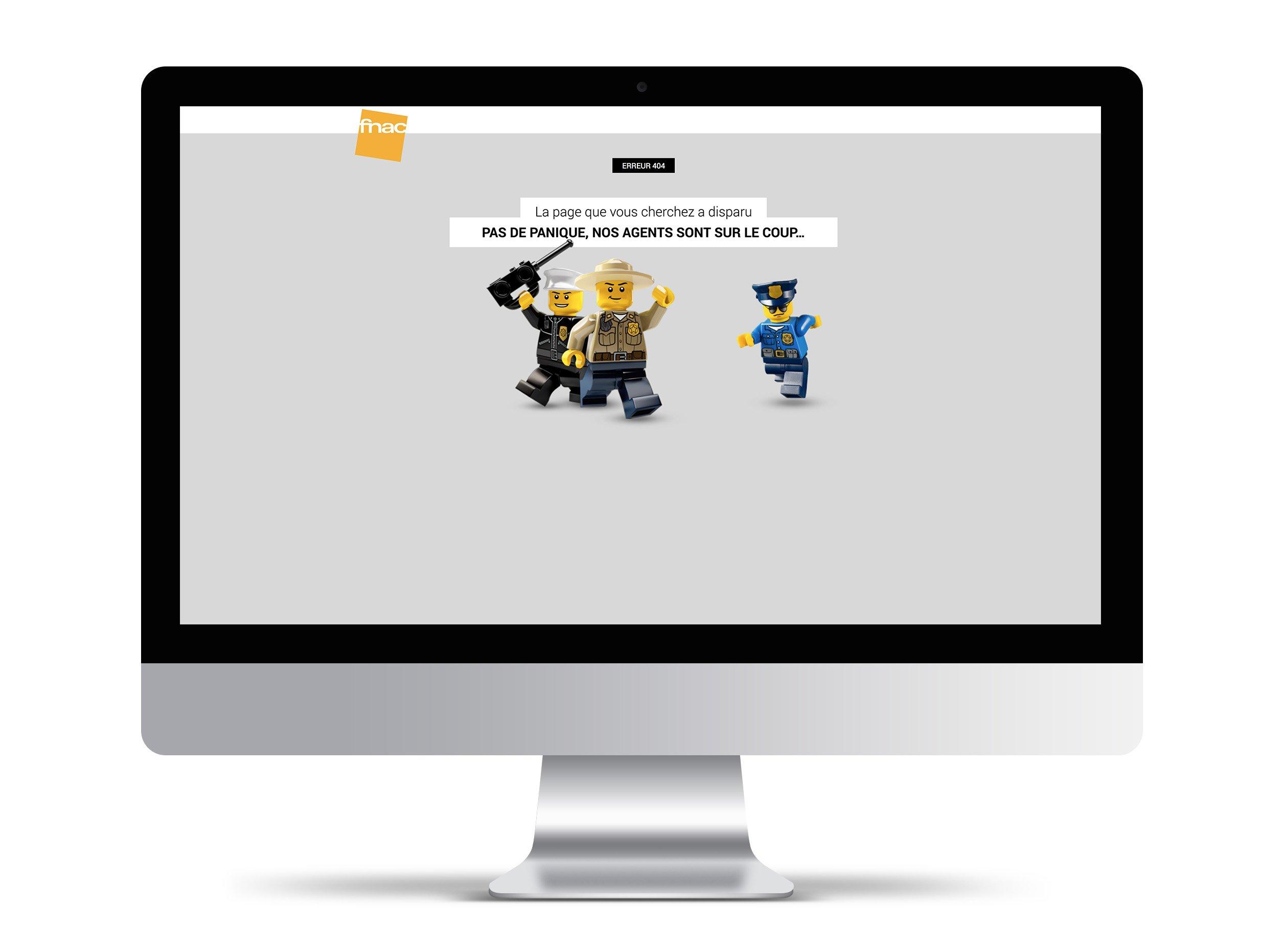 webdesign ux 404 fnac