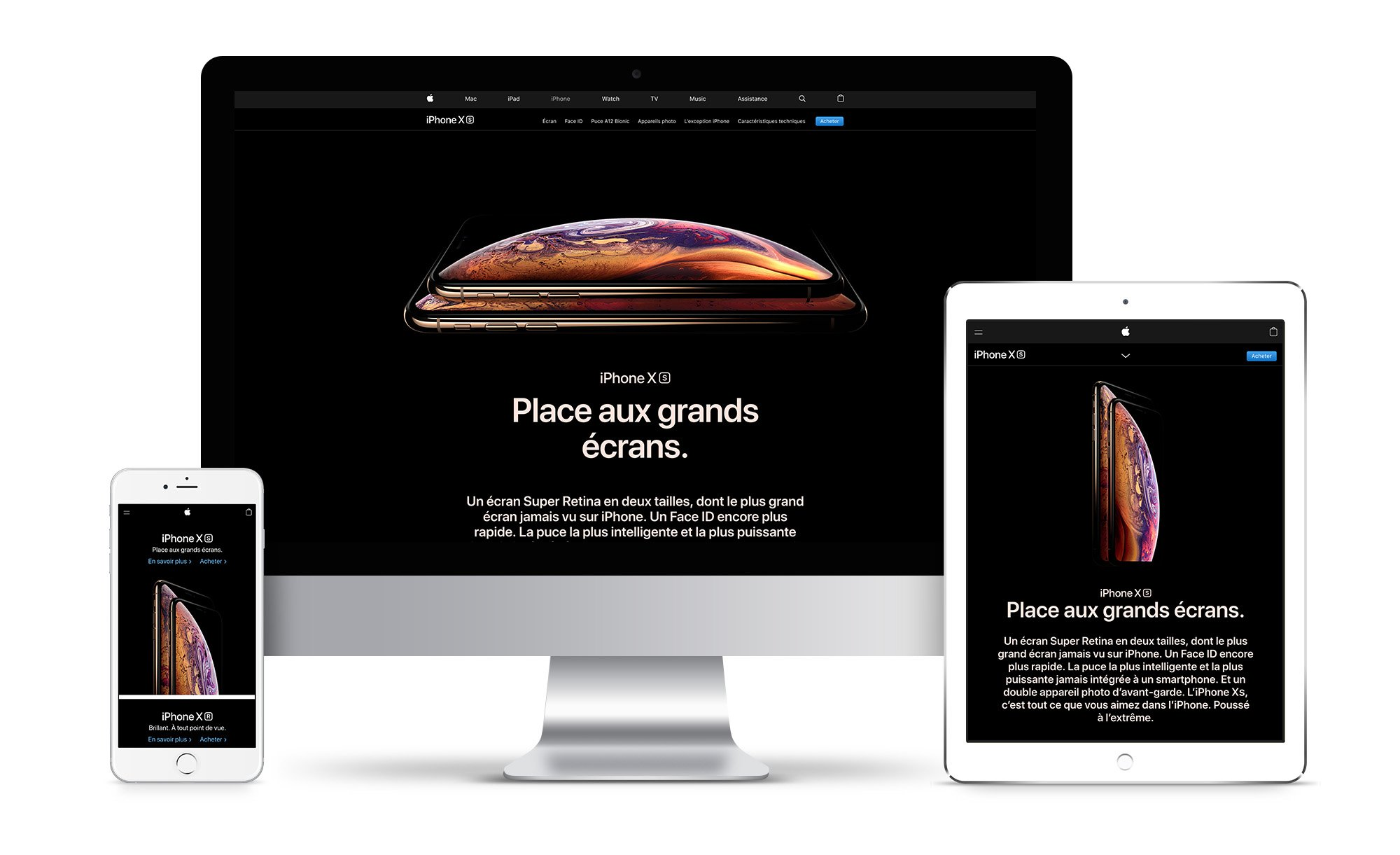 webdesign ux responsive apple 2