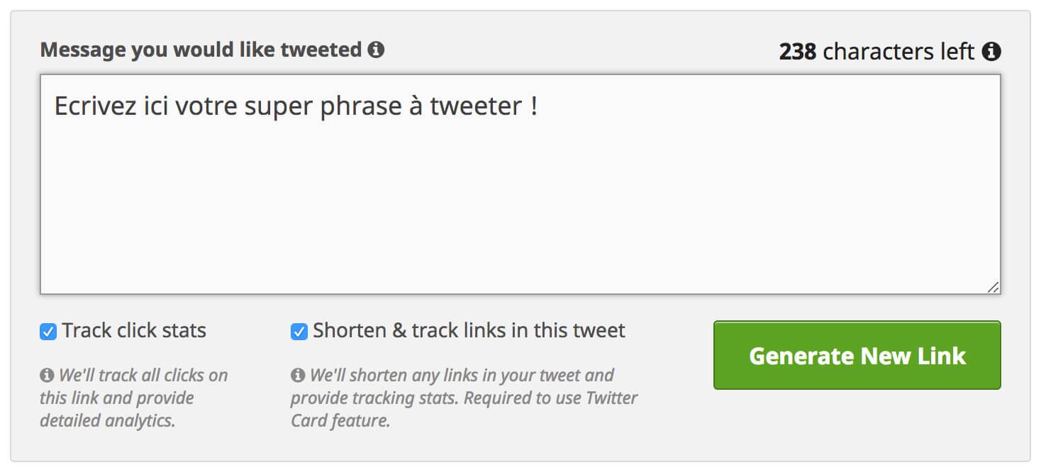 27 clés pour booster le trafic de son site web - Clic to tweet 1