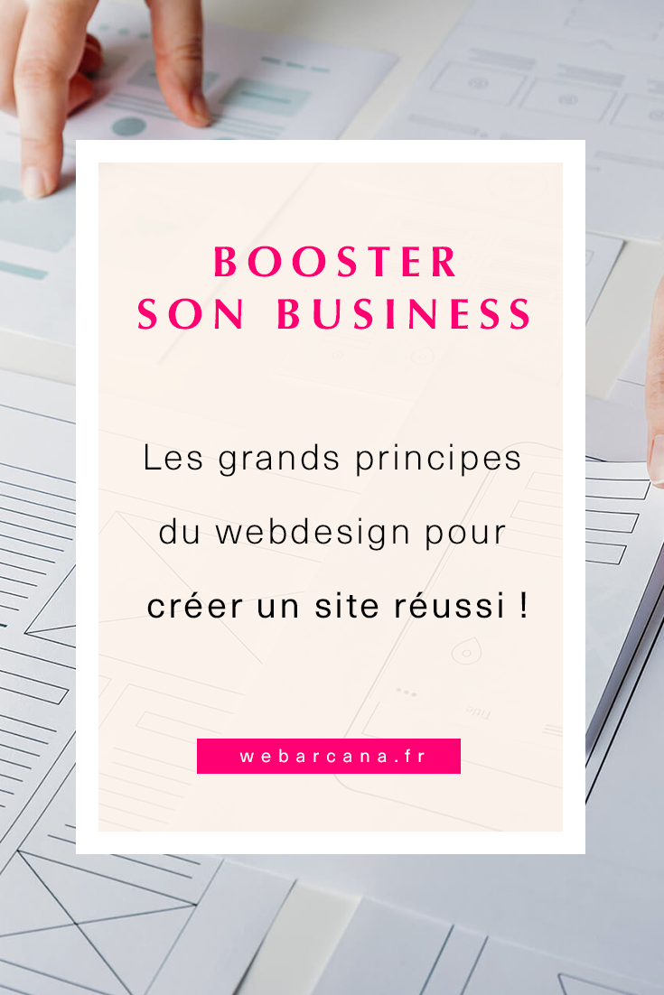 Les principes du webdesign Pin