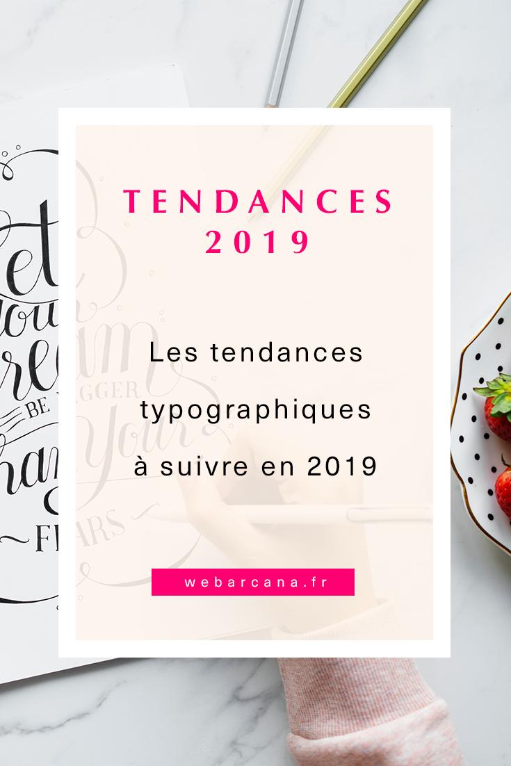 Tendances Typographiques 2019