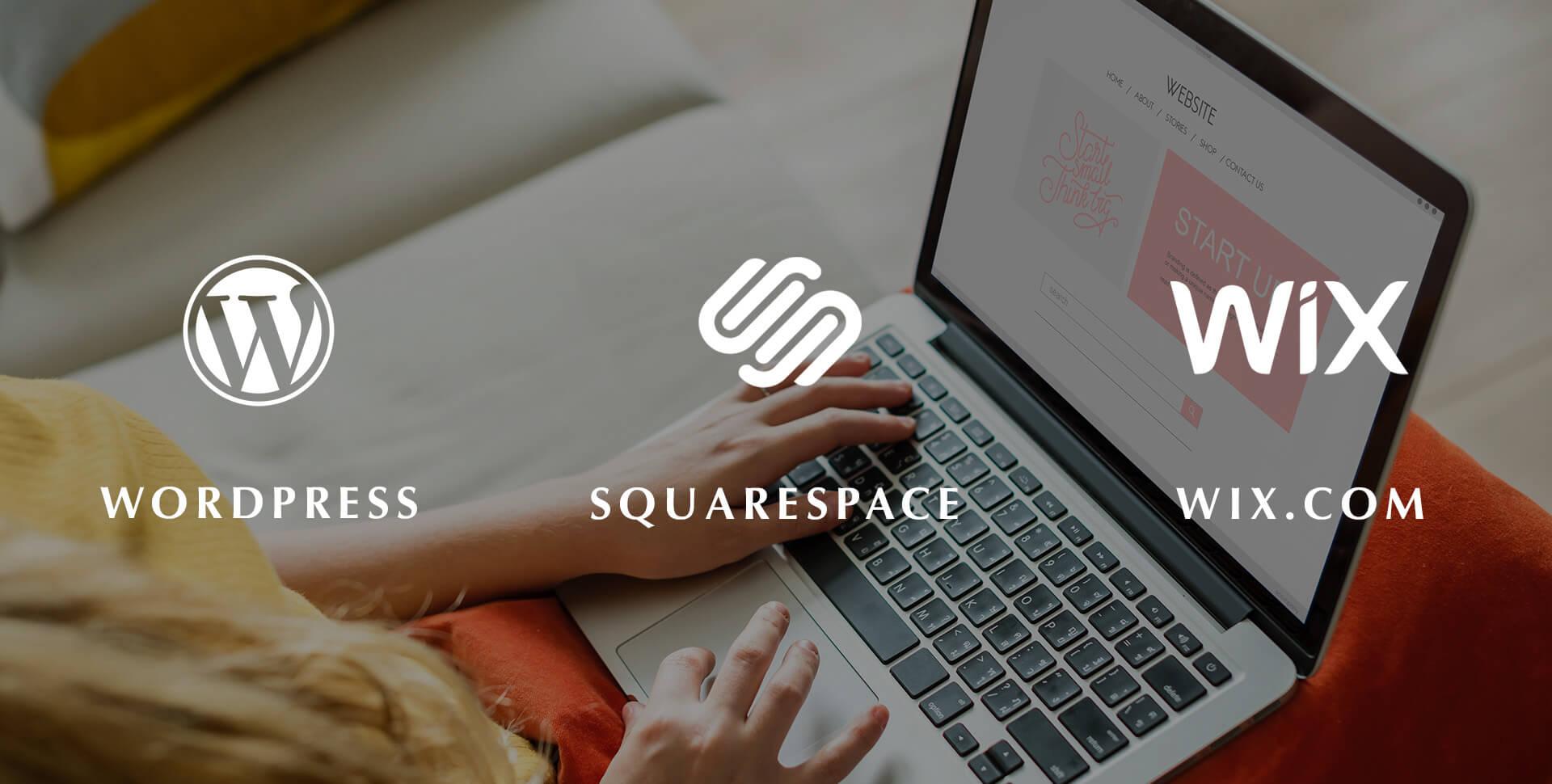 Wix WordPress ou Squarespace lequel choisir ?