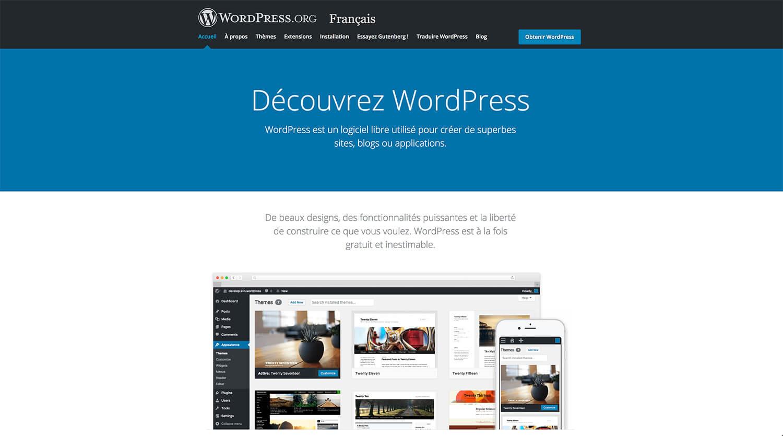 Présentation de WordPress