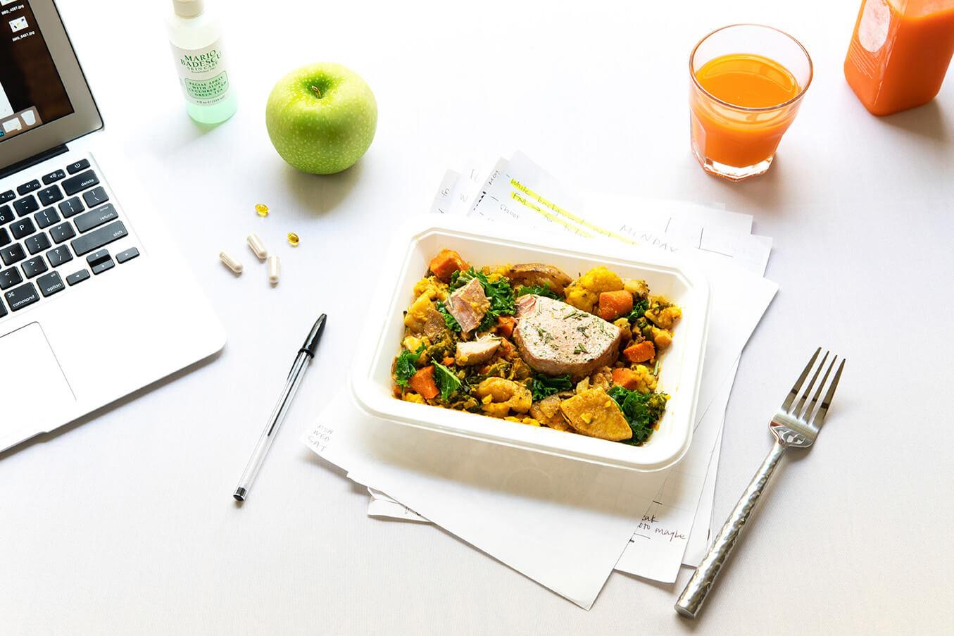 Conseils pour s'organiser et booster votre efficacité - repas sain