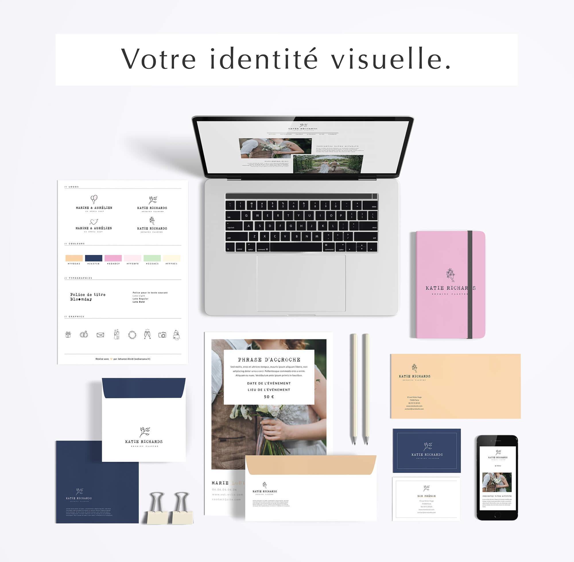 Mockup Identité Visuelle